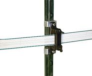 Tape. Rope and Corner Insulator T-Post
