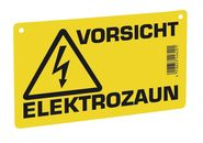Warning Sign – Caution Electric Fence!