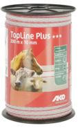 TopLine Plus Fence Tape white/red