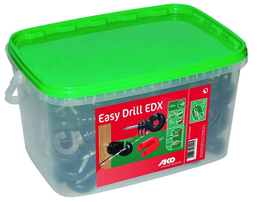 200 Isolatoren Easy Drill Ringisolator EDX AKO+Hilfe